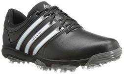 adidas Men's Tour360 X Golf Shoe,Black/Running White/Dark Si
