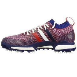 Adidas Tour360 Knit Golf Shoes White/Night Sky/Scarlet - Cho