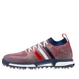 Adidas Tour360 Knit Golf Shoes White/Night Sky/Scarlet - Cho