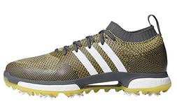 adidas Men's TOUR360 Knit Golf Shoe, Grey Five FTWR White/EQ