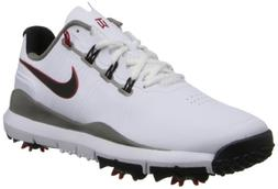Nike Golf Men's Nike TW '14 Golf Shoe,White/Metallic Pewter/