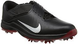 Nike Men's TW'17 Golf Shoes, Black/Metallic Silver-Anthracit
