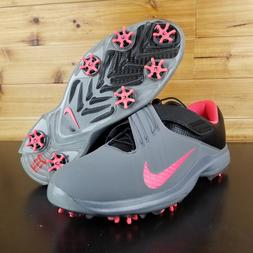buy popular ab1e6 88e38 Nike TW  17 Tiger Woods Golf Shoes Grey Pink Punch Black SZ