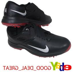 the best attitude 8ae16 a4364 Nike TW 17  Tiger Woods Mens Golf Shoes Spikes Black Silver
