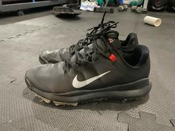 Nike, TW13, Golf Shoes, Black, Size 10.5