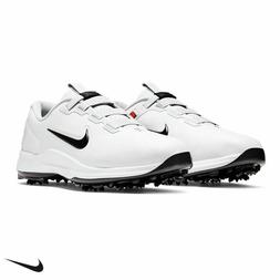 NIKE TW71 FAST FIT TIGER WOODS GOLF SHOES SIZE 9.5 WHITE BLA