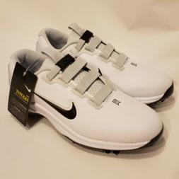 Nike TW71 Fast Fit White Golf Shoes Spikes Tiger Woods CD630
