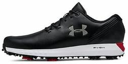 Under Armour UA Hovr Drive Golf Shoes 3022273-001 Black/Silv