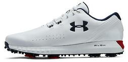 Under Armour UA Hovr Drive Golf Shoes 3022273-100 White/Red/