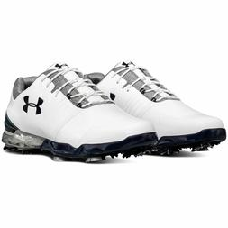 UNDER ARMOUR UA MATCH PLAY Mens Golf Shoes Cleats Spikes Whi