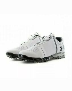 Under Armour UA Spieth One Golf Shoes White/Black 1288574-10