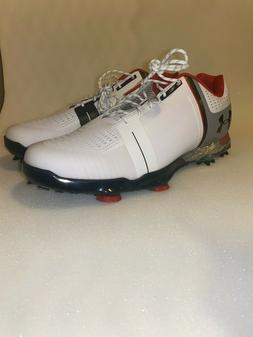 Under Armour UA Spieth One Men's Golf Shoes 1288574-108 Whit