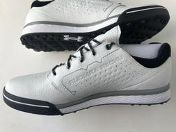 Under Armour UA Tempo Hybrid Spikeless Leather Golf Shoes Me