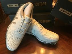 Under Armour UA Tempo Tour Size 16 14 Men Golf Shoes White M