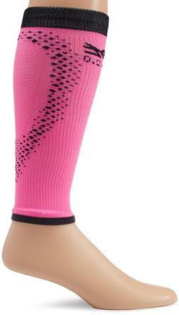 Zoot Sports Men's Ultra 2.0 CRX Calf Sleeve, Pink Glow/Black