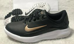 NIKE Vapor Golf Shoes Black/White/Bronze Women's Size 6 AQ23