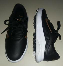 NIKE Vapor Golf Shoes Black/White/Bronze Women's Size 8 AQ23
