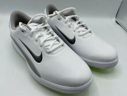 Nike Vapor Golf Shoes Size 10  AQ2302-101 White/Medium Grey