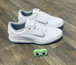 👀🔥Nike Vapor Golf Shoes Spikeless Mens White / metalli