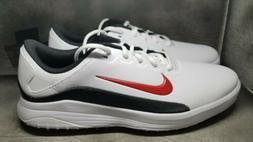 Nike Vapor Golf Shoes White Black Red AQ2302 103 Men's New R