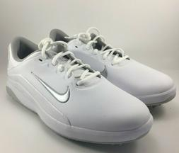 Nike Vapor Golf Shoes White Grey Size US 10 Men's Spikeless