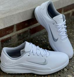 Nike Vapor Mens Golf Shoes AQ2302-100 White/Platinum 13 Medi