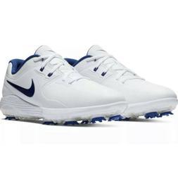 Nike Vapor Pro Golf Men's Shoes Sz 13 White Navy Blue AQ21