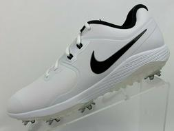 Nike Vapor Pro Golf Shoes AQ2197-101 White Black Mens Golf S