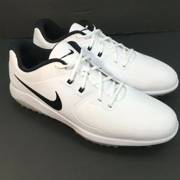 Nike Vapor Pro Golf Shoes Cleats White Black Men's Size 8 AQ