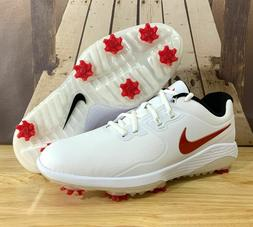 NIKE VAPOR PRO GOLF SHOES MENS SIZE 11 WHITE/RED/BLACK AQ219