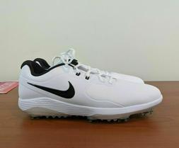Nike Vapor Pro Golf Shoes White Black Lunarlon AQ2197-101 8.