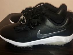 Nike Vapor Pro Lunarlon Golf Shoes Cleat Men Size 11 White B