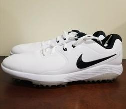 Nike Vapor Pro Lunarlon Golf Shoes Cleat White Black Men's S