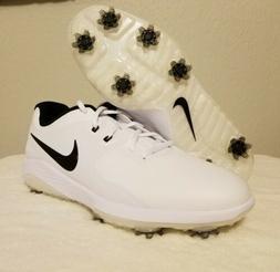 Nike Vapor Pro Lunarlon Golf Shoes Cleat White Black Mens Sz