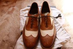 Vintage Allen Edmonds Heritage Mens Golf Shoes New Walnut/Bo