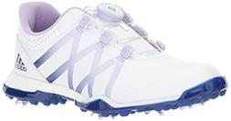 adidas Women's W Adipower Boost Boa Golf-Shoes, Ftwr White/P