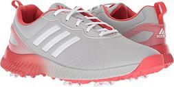 adidas Women's W Response Bounce Golf Shoe, Grey Two FTWR Wh