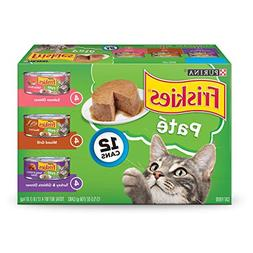 Purina Friskies Pate Adult Wet Cat Food Variety Pack -  5.5