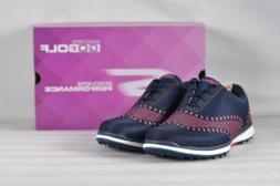 Women's Skechers Go Golf Elite-Ace Golf Shoes Navy/Pink