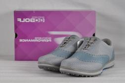Women's Skechers Go Golf Elite- Ace Golf Shoes Charcoal/Blue