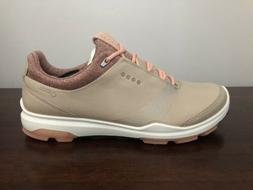 ECCO Women's Golf BIOM Hybrid 3 Shoes Gore Tex Size 8-8.5  O