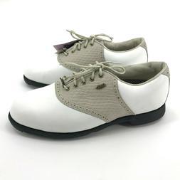 Etonic Women's Golf Shoes Size 8 White Gray Lace Up NEW