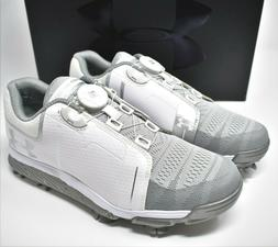 Under Armour Women's Golf Shoes White UA W Tempo Sport Boa 1