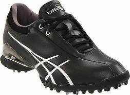 ASICS Women's Lady GEL-ACE THEA Golf Shoe P216Y Black / Silv