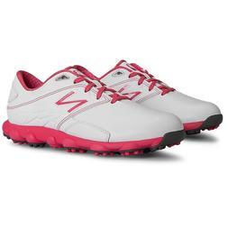 New Balance Women's Minimus LX Spikeless White Pink Komen Ed