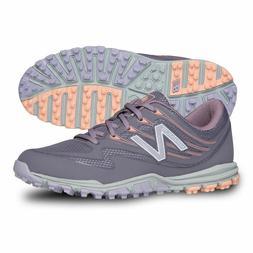 New Balance Women's Minimus Sport Spikeless Purple Grey Golf