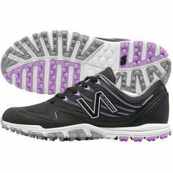 New Balance Women's Minimus WP Golf Shoes - Black/Purple NEW