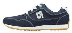 FootJoy Women's Sport Retro Golf Shoes Navy 92387 Ladies New