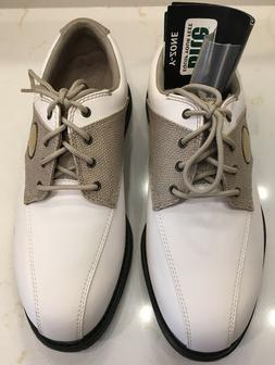 Bite Women's Y-Zone Golf Shoes Sz 6.5 Hawk CMS White/Sand St