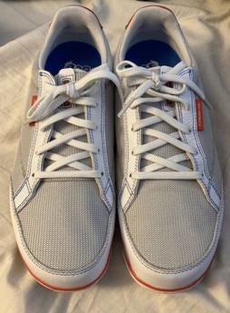 Ashworth Womens Cardiff ADC Golf Shoes Size 8.5 White/Grey/O